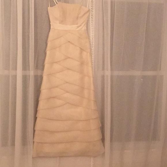Max & Cleo Dresses   Nwt Max And Cleo Ecru Floor Length Gown   Poshmark